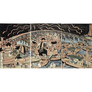 東京都墨田区で、浮世絵と写真で隅田川の文化と産業を紹介する展示会開催