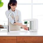 キッチンに置くだけ - 小泉成器、家庭用のハンドドライヤー