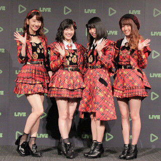 LINEに生放送を配信できる! 「LINE LIVE」スタート - AKB48が魅力アピール