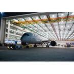 ボーイング、ノースチャールストン工場で100機目の787をロールアウト