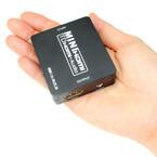 上海問屋、HDMI信号から音声信号のみを取り出す音声分離器