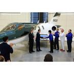 ホンダジェット量産機を初納入「世界中の空港で目にできることに期待」