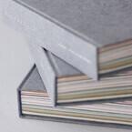 56種の和紙がとじられた手製本のアートブックを限定販売