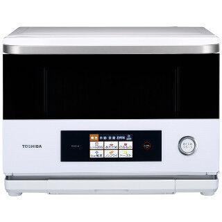 東芝、26Lながら自動メニューを300種類搭載した過熱水蒸気オーブンレンジ