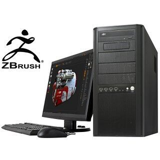 ドスパラ、デジタルスカルプトソフト「ZBrush」が快適に動く公認PC