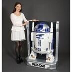 『スター・ウォーズ』等身大R2-D2が省スペースインテリアに、ボイスも収録
