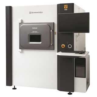 島津製作所、傾斜透視撮影とCT撮影をワンパッケージ化したX線検査装置