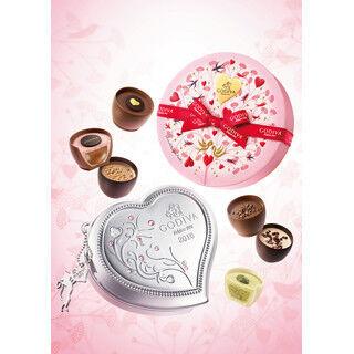 """ゴディバのバレンタイン限定商品が発売 - 今年のパッケージは""""エデンの園"""""""