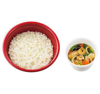 ほっともっと、魚介や野菜10品目を使用した「中華あんかけご飯」発売
