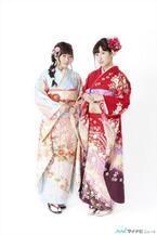 SMA所属の声優、水瀬いのりと伊波杏樹が成人式を迎え晴れ着姿を披露