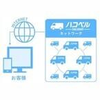 ハコベル、配送可能車両を小型トラック便、中型トラック便まで拡大