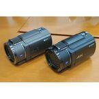 ソニー、高感度画質を強化した4Kハンディカム「FDR-AX55」「FDR-AX40」