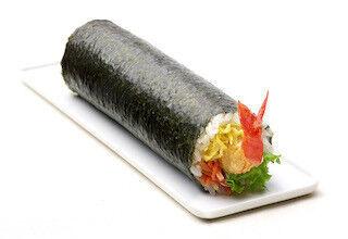 「大海老マヨ」が2尾丸ごと入ったリッチな恵方巻を予約開始 - 柿安本店