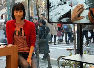 「新しい何かを始めよう。」で紹介されたアーティスト・牧かほりさんがApple Store 表参道のイベントに登場