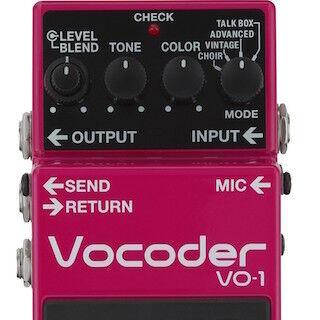 ローランド、自分の声でギター演奏を楽しめるボコーダー「VO-1」を3月発売