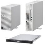 NEC、Express5800シリーズに1wayサーバ3機種を追加 - 処理速度を30%向上