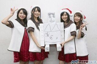 『ゆるゆり さん☆ハイ!』、クリスマスイブのサプライズにスタジオ大歓喜! 「ゆるゆり さん☆ハイ! 今年はクリスマスにナニシマス!?」