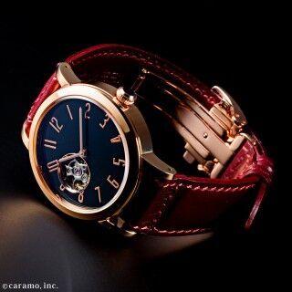 国産機械式ムーブメントと木曽漆のコラボ「SPQR urushi-kiso 機械式」時計