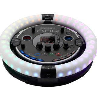 ZOOM、新感覚のリング型ドラムマシン&コントローラー「ARQ」発表