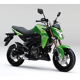 カワサキ「Z125 PRO」を発表 - 大阪・東京モーターサイクルショーにも出展