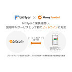 マネーフォワードとbitFlyerが業務提携 - 今後はブロックチェーンにも注力