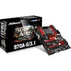 ASRock、M.2やUSB 3.1をサポートしたAM3+対応マザーボード「970A-G/3.1」