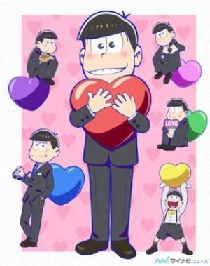「おそ松さん」×渋谷パルコ、バレンタインデーイベント「LOVE松さん」開催