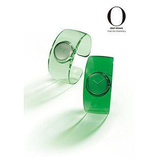 """吉岡徳仁デザインの""""水""""をイメージした腕時計「O(オー)」に新色が登場"""