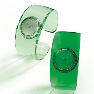 吉岡徳仁氏デザインの時計「0」、濃淡が美しい新緑のグリーン・モデル