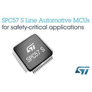 ST、ステアリング/ブレーキ向け車載用32bitマイコンファミリ「SPC57」