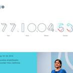 「Google I/O 2016」3月8日から受付開始、特設サイトでカウントダウン