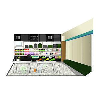 「モレスキン アトリエ」の新店が長崎の石丸文行堂本店にオープン