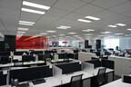 人がほとんどいないオフィス……でもしっかり業務中 - レノボ関連グループ4社が合同で「テレワークデイ」を実施