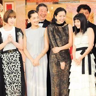 『海街diary』日本アカデミー賞で作品賞ほか最多4冠! 四姉妹で感激スピーチ