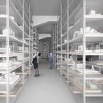 東京都・天王洲に、作品の保管機能を備えた建築模型ミュージアムが今春開館