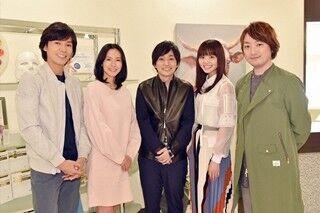いきものがかり、中谷美紀主演ドラマの主題歌担当! 収録現場を訪れ感激