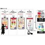 来店者の属性に最適な広告やサンプリングが可能なO2Oツールが試験導入
