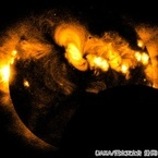 JAXAなど、太陽観測衛星「ひので」が撮影した部分日食の画像を公開