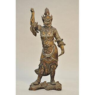 東京都・二子玉川で修理された仏像や仏画を修理過程とともに展示する展覧会
