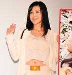 藤原紀香、へそ出し衣装でイベントに登場 結婚は「近かったらいいな!」