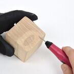 サンコー、USB接続のペン型彫刻ドリル - 6種類のビットが付属