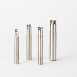 京セラ、独自設計の刃先形状で加工時の振動を抑制する極小径高送りカッタ