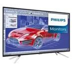 フィリップス、最大4画面の分割同時表示が可能な42.5型4K液晶ディスプレイ