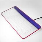 UPQ、Bluetooth接続になったガラス製タッチキーボード2ndモデル