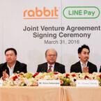 LINE、タイの電子決済用スマートカードRabbitと提携しLINE Payを展開