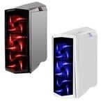 SilverStone、前面LEDファンやチャンバー構造を採用したミドルタワーケース