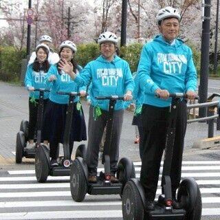 セグウェイに乗れる - 東京都の二子玉川で公道走行の実証実験