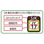 「JT」は東海道線、「JC」は中央線…JR東日本、駅ナンバリングを導入