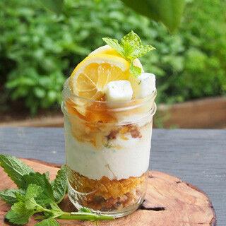 チーズのような豆乳クリームでカロリーオフ! 「レモンのティラティス」発売