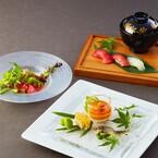 寿司や肉、デザートも付いてくる「ロカボ和会席フルコース」がおいしそう!